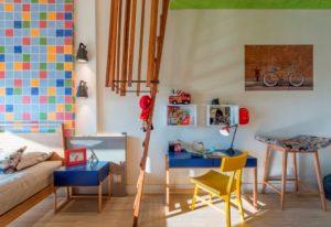 Projeto da arquiteta Denise Teixeira com a linha Wood Planks padrão Salvador