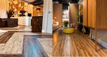 Veja maneiras diferentes de instalar o piso vinílico