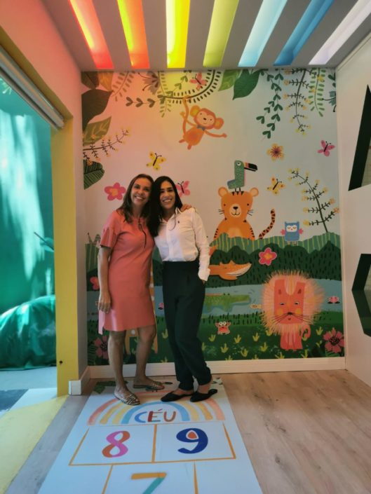 Ana Santana (Arquiteta) e Chris Quintas (Designer de Interiores)